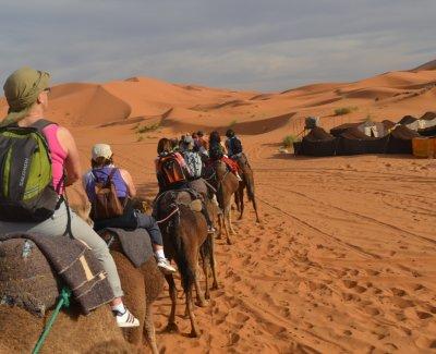 Tour al desierto de Merzouga y Zagora en 4 días