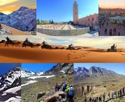 Senderismo por pueblos Bereberes del Atlas más desierto