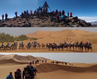 Toubkal más desierto - Lograr el viaje de tus sueños