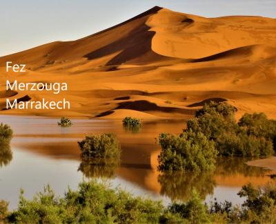 Fez Merzouga Marrakech - Excursión al desierto desde Fez 3 días