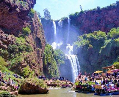 Excursiones a las Cascadas de Ouzoud salida desde Marrakech