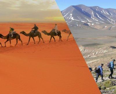 Montaña + desierto en 4 días – personalizamos tus vacaciones