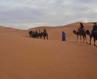 Excursión al desierto del Sáhara - 5 días Marrakech Dades Merzouga Zagora