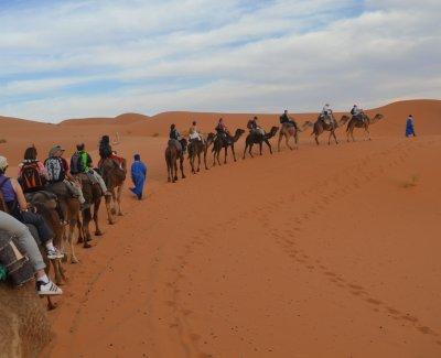 Excursión al desierto de Merzouga 3 días de duración