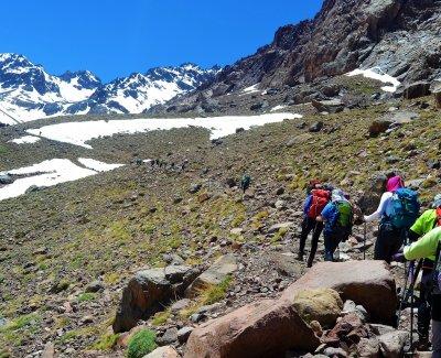 Semana Santa 2019 peregrinación al Toubkal Alto Atlas