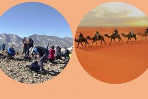 Trekking al Toubkal más excursión al Desierto de Merzouga