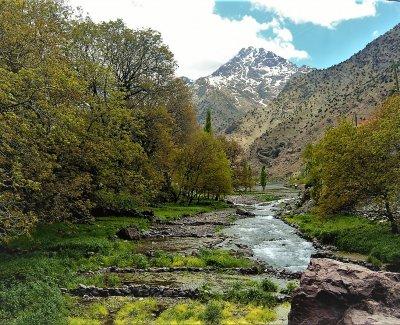 Senderismo por los Valles del Atlas es una ruta familiar