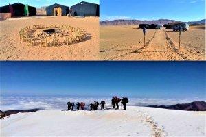 Las mejores Rutas Combinación Montaña y desierto